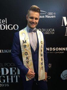 MR GAY GERMANY 2016 - Aaron Koenigs